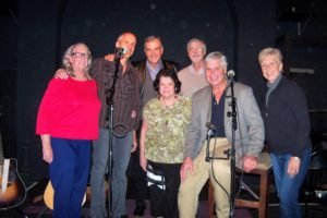 Prep team for the concert Nov 16th at the Great Room, Gansevoort, NY